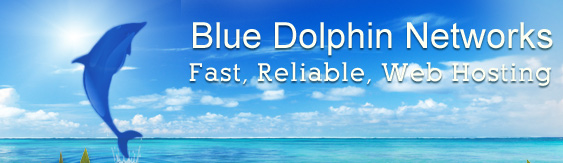 Blue Dolphin Networks; Fast, Reliable, Web Hosting